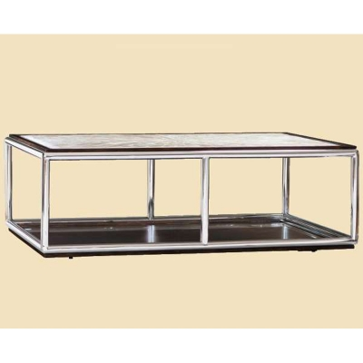 Marge Carson Rectangular Cocktail Table