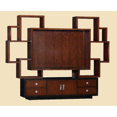 Marge Carson Entertainment Wall Unit