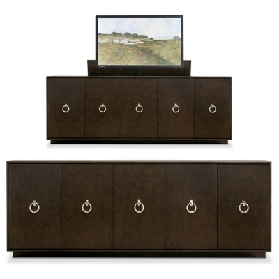 Old Biscayne Designs Belgium Buffet with TV Lift