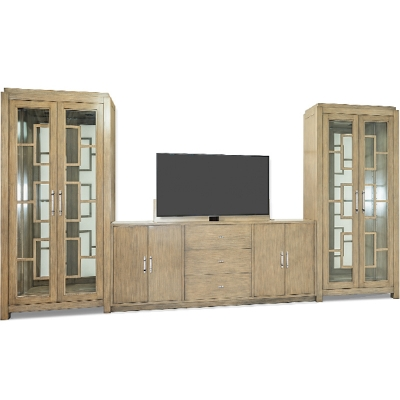 Old Biscayne Designs Wall Unit with TV Lift