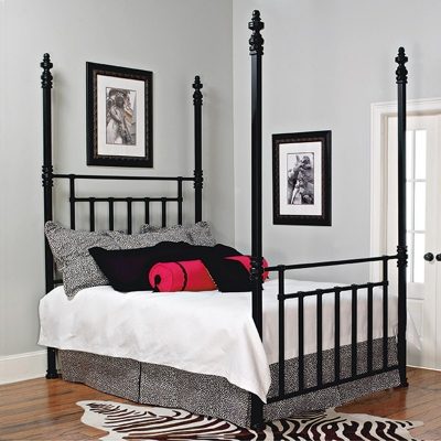 Old Biscayne Designs Bed with Tall Posts