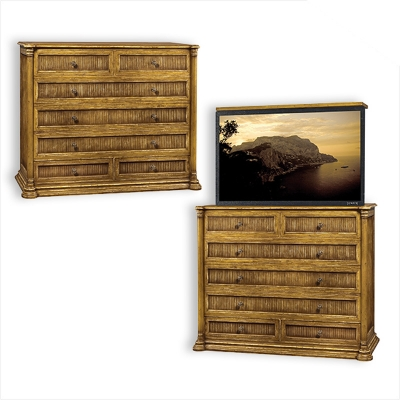 Old Biscayne Designs Samantha Chest with TV Lift