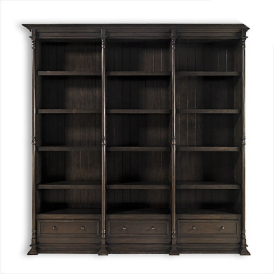Old Biscayne Designs Reilly Triple Bookcase