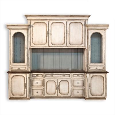 Old Biscayne Designs Old Naples Kitchen Cabinet
