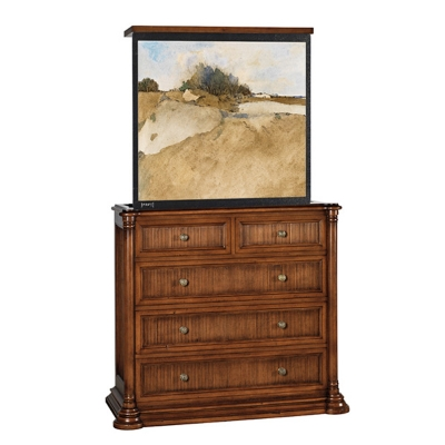 Old Biscayne Designs Chest with TV Unit