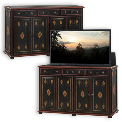Old Biscayne Designs Chancellor Chest with TV Lift