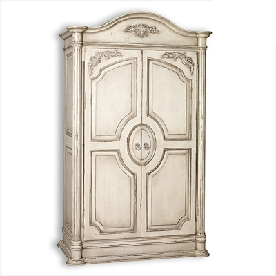 Old Biscayne Designs Armoire Rustic White