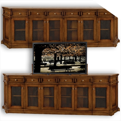 Old Biscayne Designs Barbara Media Cabinet