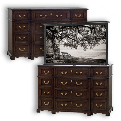 Old Biscayne Designs Brenton Chest with TV Lift