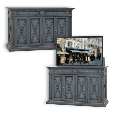 Old Biscayne Designs Allisa Cabinet with TV Lift