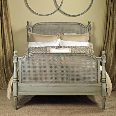 Old Biscayne Designs Bed in Aqua Mist