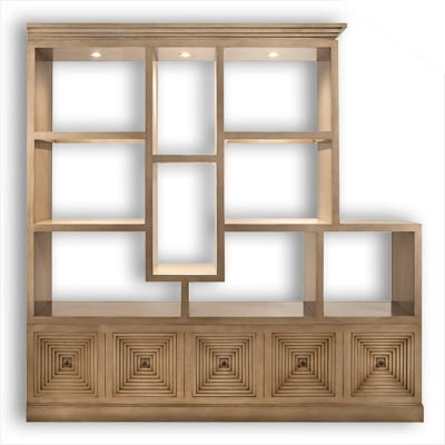 Old Biscayne Designs William Display Cabinet