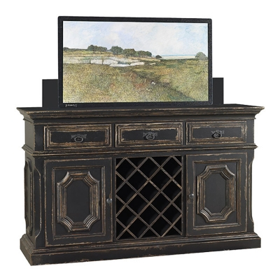 Old Biscayne Designs LeBlanc Buffet with TV Lift