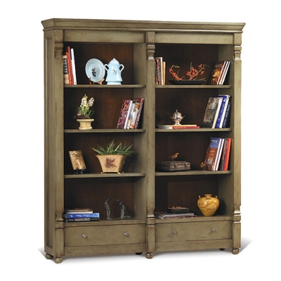 Old Biscayne Designs Double Bookcase