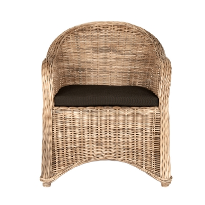 Orient Express 6807 New Wicker Cape Dining Arm Chair