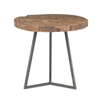 Orient Express Timber Round End Table