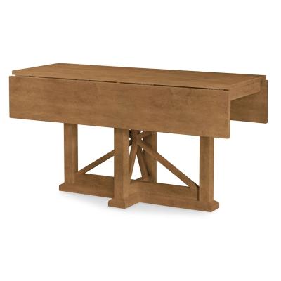 Rachael Ray Home Drop Leaf Console Table Nutmeg
