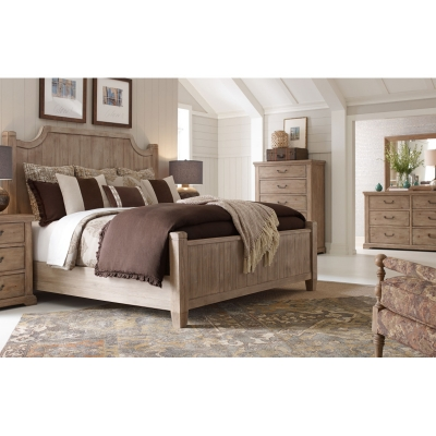Rachael Ray Home Complete Low Post Bed California King