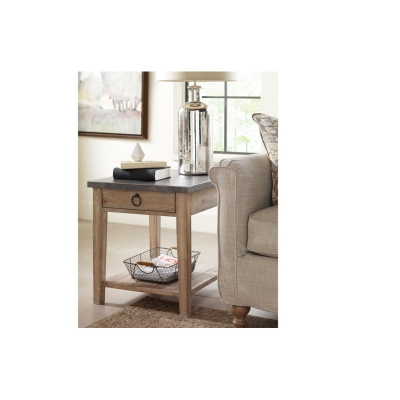 Rachael Ray Home Metal Top End Table