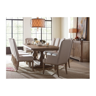 Rachael Ray Home Complete Rectangular Trestle Table