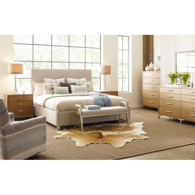 Rachael Ray Home Complete Upholstered Bed Queen
