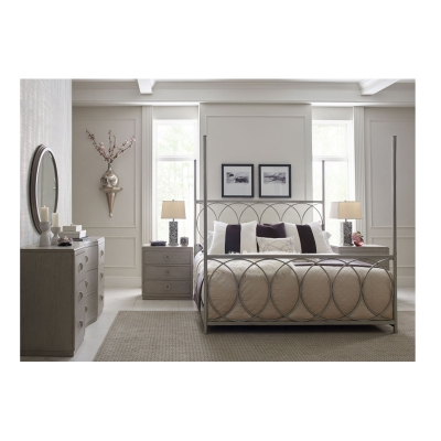 Rachael Ray Home Metal Canopy Bed Queen