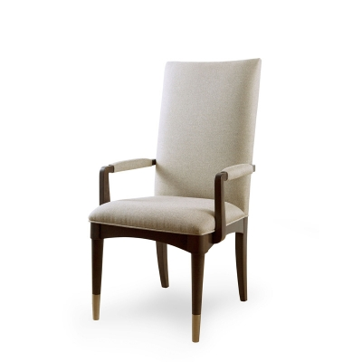 Rachael Ray Home Upholstered Back Arm Chair