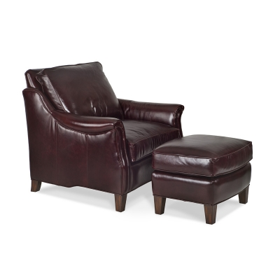 Randall Allan 1114 Lamar Chair And Ottoman Discount Furniture At Hickory Park Furniture Galleries