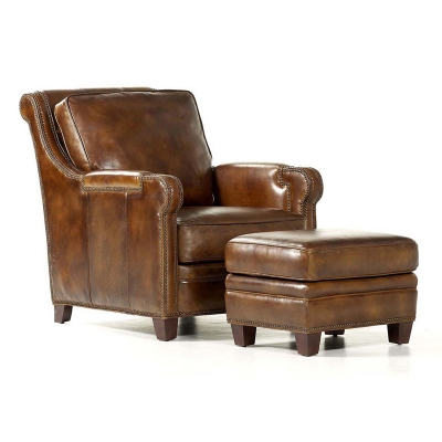 Randall Allan 125 Easton Chair And Ottoman Discount Furniture At Hickory Park Furniture Galleries