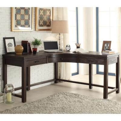 Riverside Curved Corner Desk