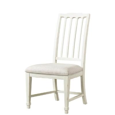 Riverside Slat Back Upholstered Side Chair