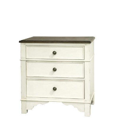 Riverside Three Drawer Nightstand