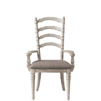 Riverside Upholstered Ladderback Arm Chair