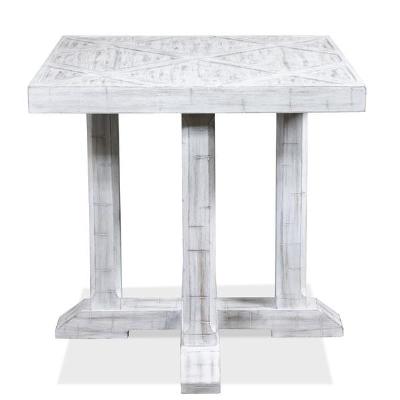 Riverside Parquet Side Table