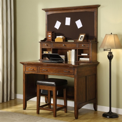 Riverside Project Desk and Hutch