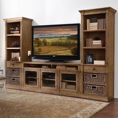 Riverside TV Console and Piers
