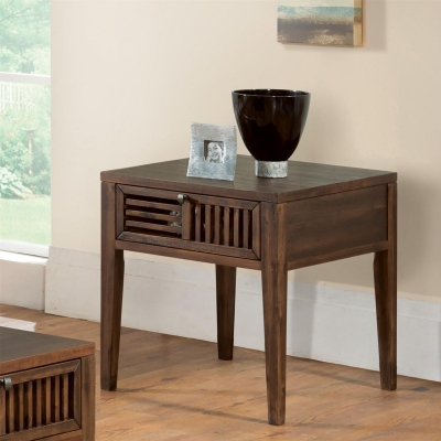Riverside Open Slat Side Table