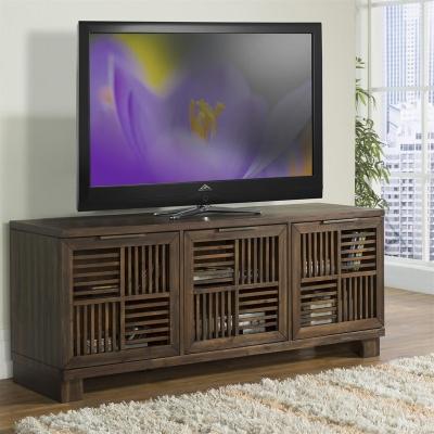 Riverside Open Slat TV Console