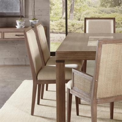 Riverside Cane Upholstered Side Chair