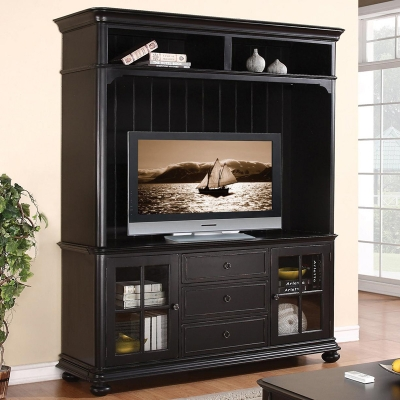 Riverside 69 Inch TV Console and Hutch