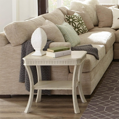 Riverside Rectangle Chairside Table