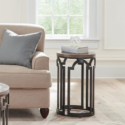 Riverside Round Chairside Table