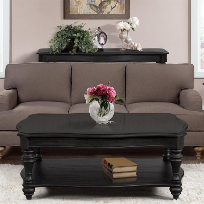 Riverside 21701 Corinne Black Coffee Table Discount