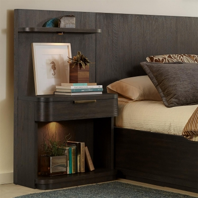 Riverside Low Pier Nightstand
