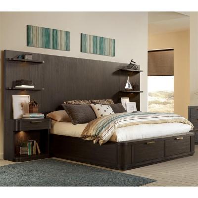 Riverside California King Tall Storage Bed