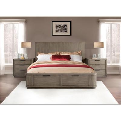 Riverside King Low Storage Bed