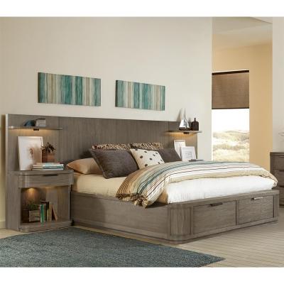 Riverside California King Low Storage Bed