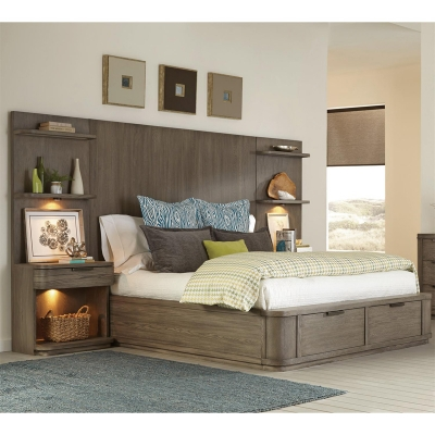 Riverside King Tall Storage Bed