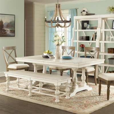 Riverside 80 Inch Rectangular Dining Table