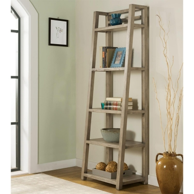 Riverside Leaning Bookcase